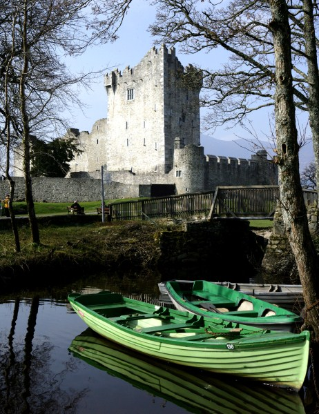 Ross Castle Boats, Co. Kerry