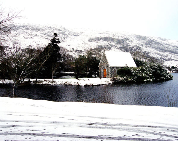 Product Code:  - Winter at Gougane Barra, Co. Cork